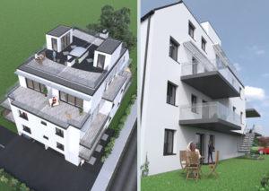 Bild Oleandergasse 25 Eigentumswohnungen dachraum Bauträger Immobilien 1220 Wien