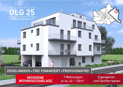 Bild Oleandergasse 25 Eigentumswohnungen dachraum Bauträger Immobilien