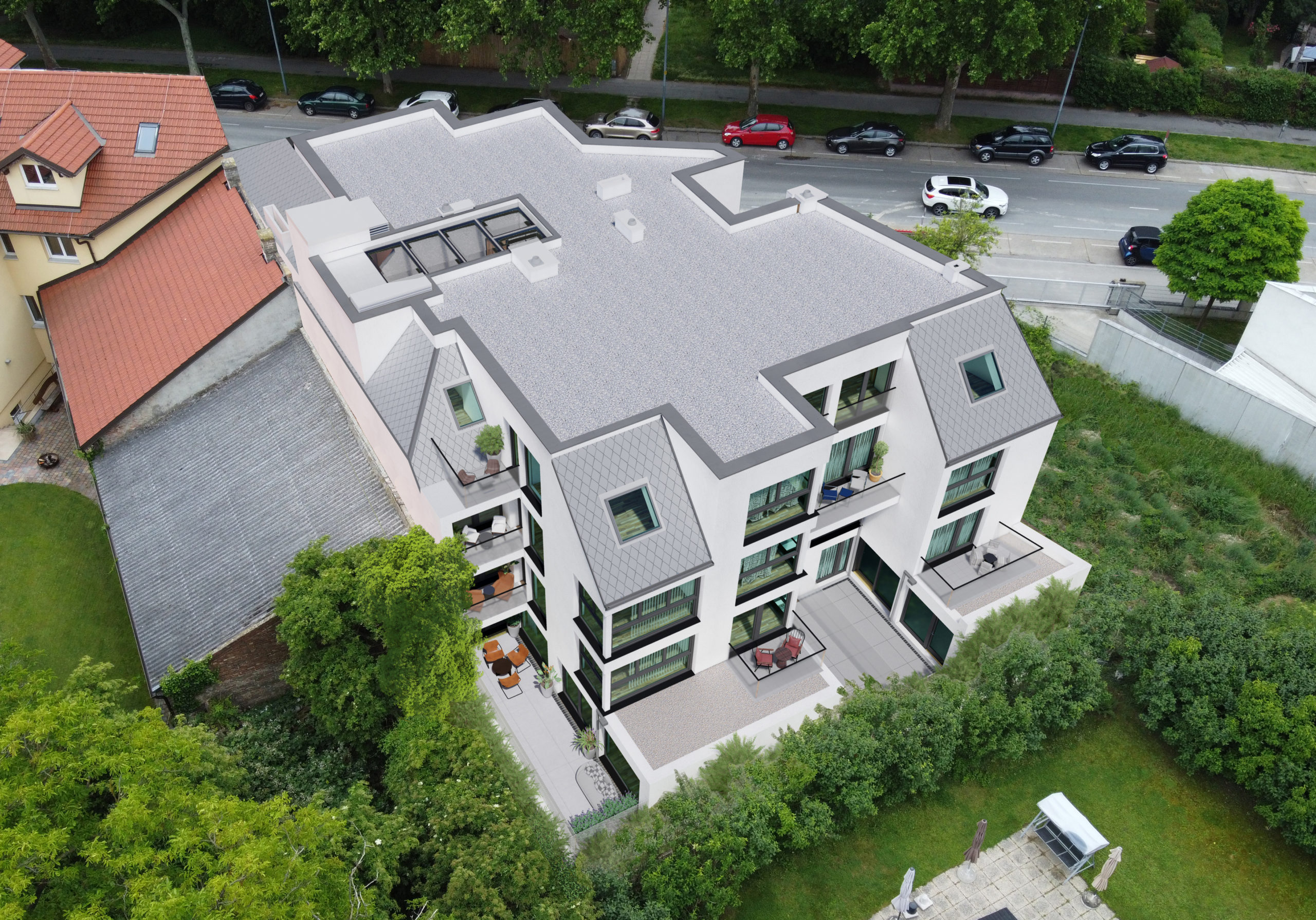 dachraum Quadenstraße 43 Bauträger Immobilien